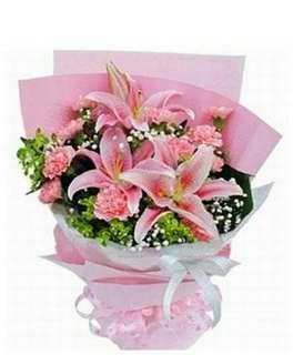 Valentine Kiss Bouquet V85 - Yikhg