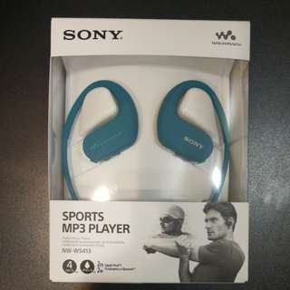Sony Brand New Waterproof MP3 Player NW-WS413