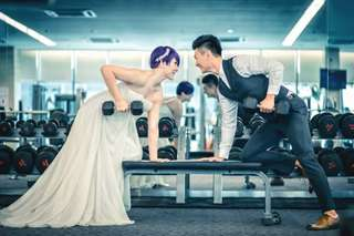 Couple Fitness Training (Look good for your wedding in 3 months)
