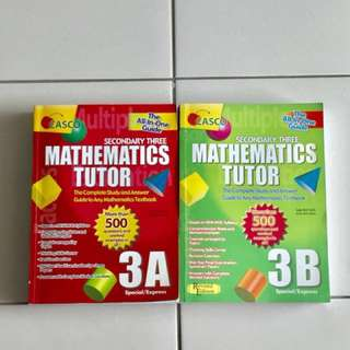 CASCO: Maths Tutor Quest, Guide ,Ans Sec 3
