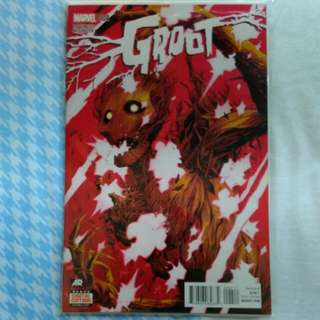 Groot #4 (1st Cameo Of Baby Groot)