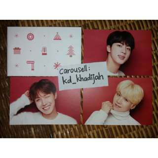 [READY STOCK] BTS x Shibuya 109 Post Card