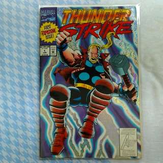 Thunderstrike #1 (1st Solo Title)
