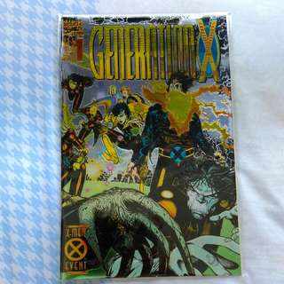 Generation X #1 (1st Chamber And Generation X)