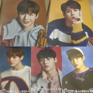 Wanna One Mexicana Chicken Poster