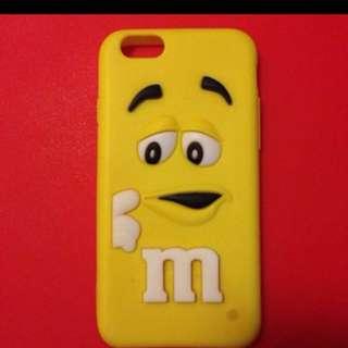 M & m iPhone 6 case