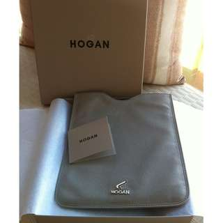 全新 Hogan tablet leather soft case 真皮平板電腦套