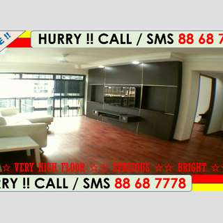 ☆☆ LAST UNIT !! ONLY $385k for BEST High Floor Renovated 4-Room HDB Apartment in WOODLANDS !!
