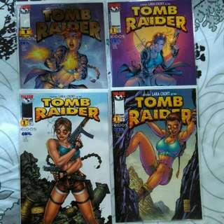 Tomb Raider #1 (Set Of 4 Variants)