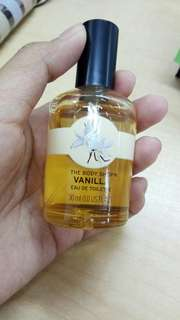 Body shop EDT vanilla 30ml