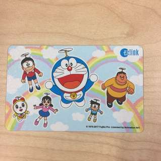 Ezlink Card Doraemon and Friends with 5$ load