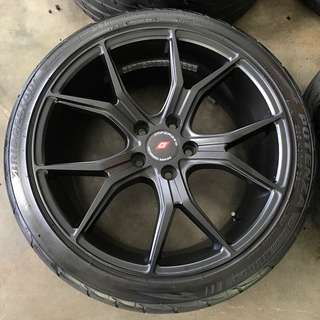 Rim Inforged 18 inch with tyre
