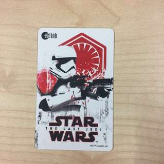 Star Wars Ezlink Card with 5$ load