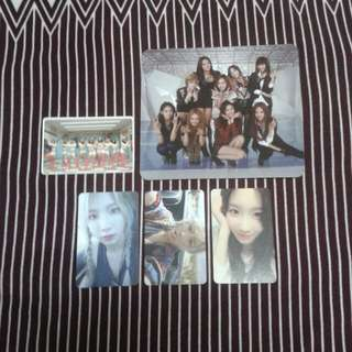 Snsd Girls' Generation & Taeyeon Official Photocard