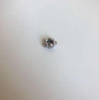 Pandora Sterling Silver Spacer with Gemstones