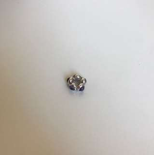 Pandora Sterling Silver Spacer Charm with Gemstones