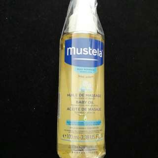 Brand new Mustela Massage Baby Oil