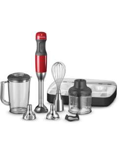 KitchenAid hand blender red