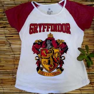 Free Shipping Harry Potter Griffindor T-shirt Size Small Jay Jays