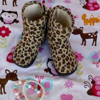 H&M Leopard boots