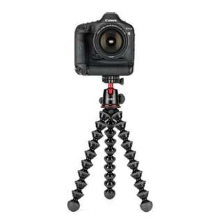 JOBY GORILLAPOD 5K PREMIUM MACHINED ALUMINUM FLEXIBLE TRIPOD FOR DSLR AND MIRRORLESS CAMERAS - BLACK/CHARCOAL