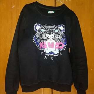Sweater Kenzo Paris Jungle Original Asli