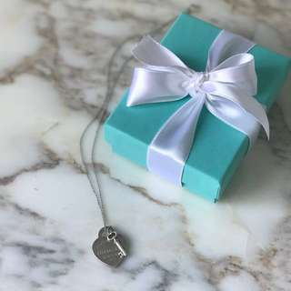 RETURN TO TIFFANY HEART KEY PENDENT