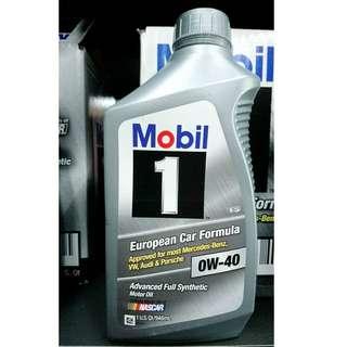 Mobil 1 0W40 全合成機油(整箱12罐)