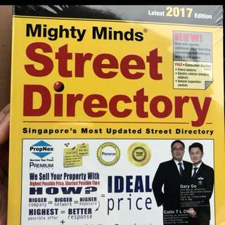 2017/2018 street directory book
