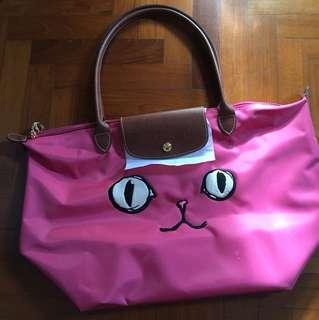 Longchamp Limited Ed long handle bag