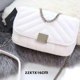 Promo.. Pedro white sling bag original import