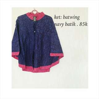 Reprice! New batwing navy