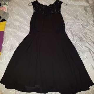XXI Black Lace Dress