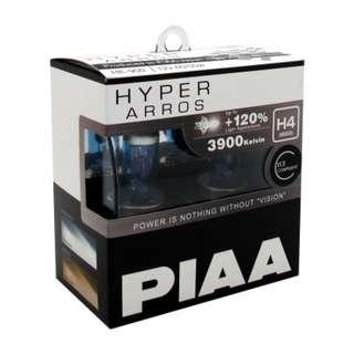 PIAA Hyper Arros HE-900 H4 3900K 12V 60/55w