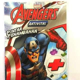 Buku marvel avenger pertambahan