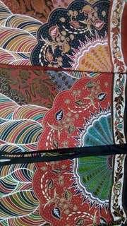 Bahan batik sinaran