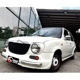 1998 復古MARCH 可愛小車