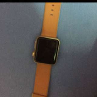 Apple Watch with original Apple cable charger