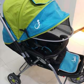 Lucky Baby Dazzle Stroller