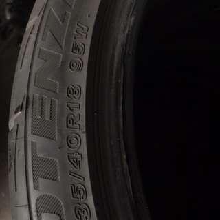 Bridgestone potenza re003 235/40/18