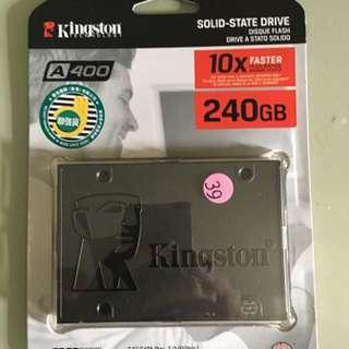 全新有單 Kingston A400 240G
