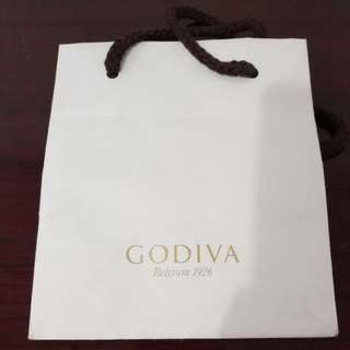 Godiva paperbag