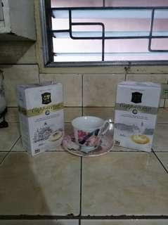 G7 cappuccino coffee