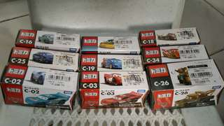 Tomica Cars Collection