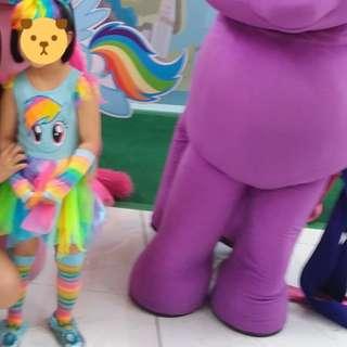 little pony rainbow dash costume