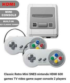 Mini Nintendo TV video games with 2 player console