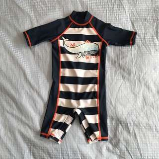 Mothercare Mr Whale Swimsuit for boys