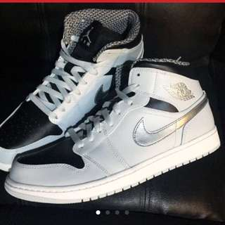 Jordan 1 graysilver