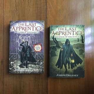 Last Apprentice books