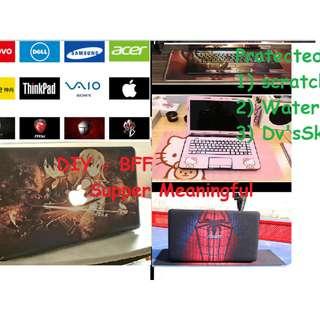 Skin DIY MacBook Laptop HP ASUS Lenovo Dell MacBook